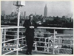 1956 USA Reise Hellmut Hermann